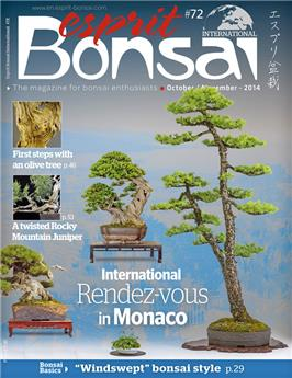 Esprit Bonsai International #72 Oct-Nov 2014