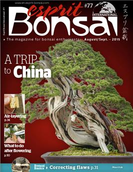 Esprit Bonsai International #77 Aug-Sept 2015